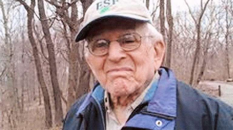 Lawrence Borger of Bayside, arborist who died at