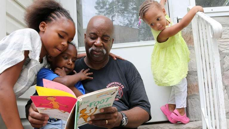 Willie Nunn, 61, who took part in literacy