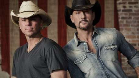 Kenny Chesney (left) takes over MetLife Stadium on