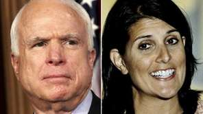 John McCain and Nikki Haley are among the