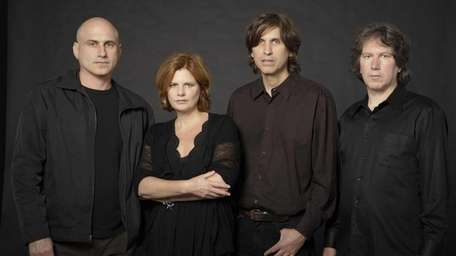 The Canadian alternative rock band Cowboy Junkies performs