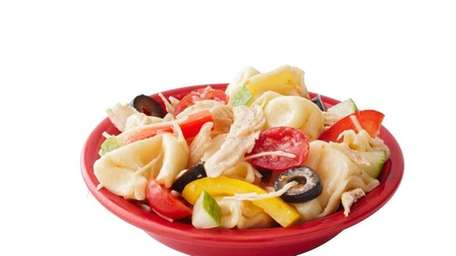 "Tumbler Tortellini Salad recipe found in ""New Junior"