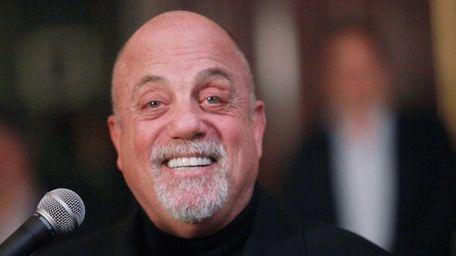 Billy Joel talks about his Steinway Hall Portrait