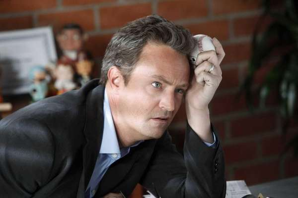 "Matthew Perry as Ryan King in ""Go On."""