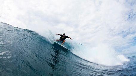 Pro surfer Jon Rose.