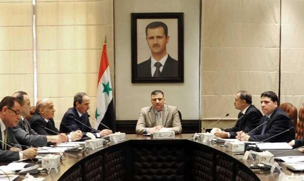 In this undated photo released by the Syrian