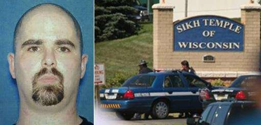 Wade Michael Page, a suspect in the Sunday,