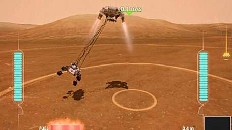 Land Curiosity with Kinect for the Xbox 360
