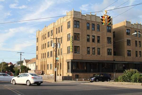 The 120-room Jackson Hotel on East Broadway in