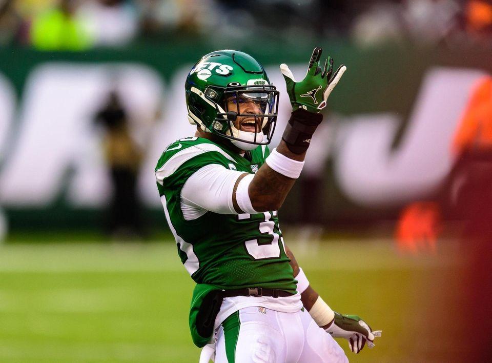 New York Jets strong safety Jamal Adams (33)