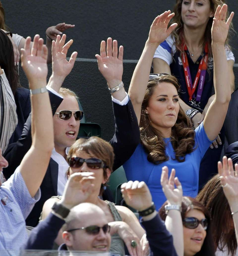 Prince William and Kate, Duchess of Cambridge, join