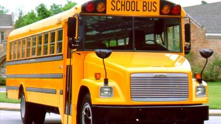 An undated file photo of a school bus.
