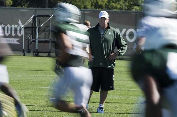 New York Jets' head coach Rex Ryan made