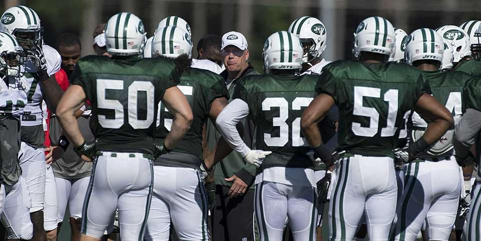 New York Jets' head coach Rex Ryan called
