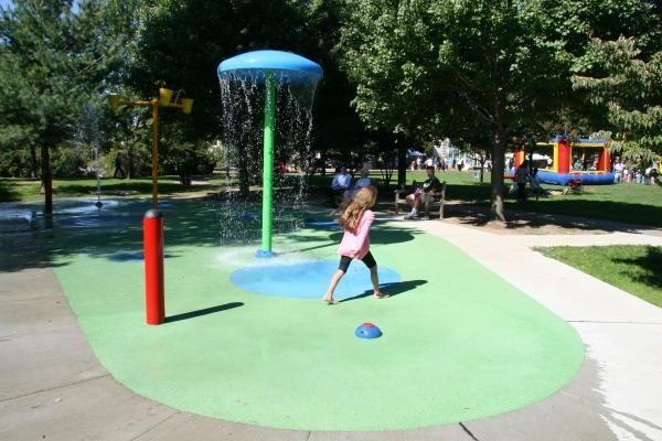 Blumenfeld Family Park in Port Washington features a