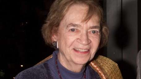 Film critic Judith Crist at the Festival of