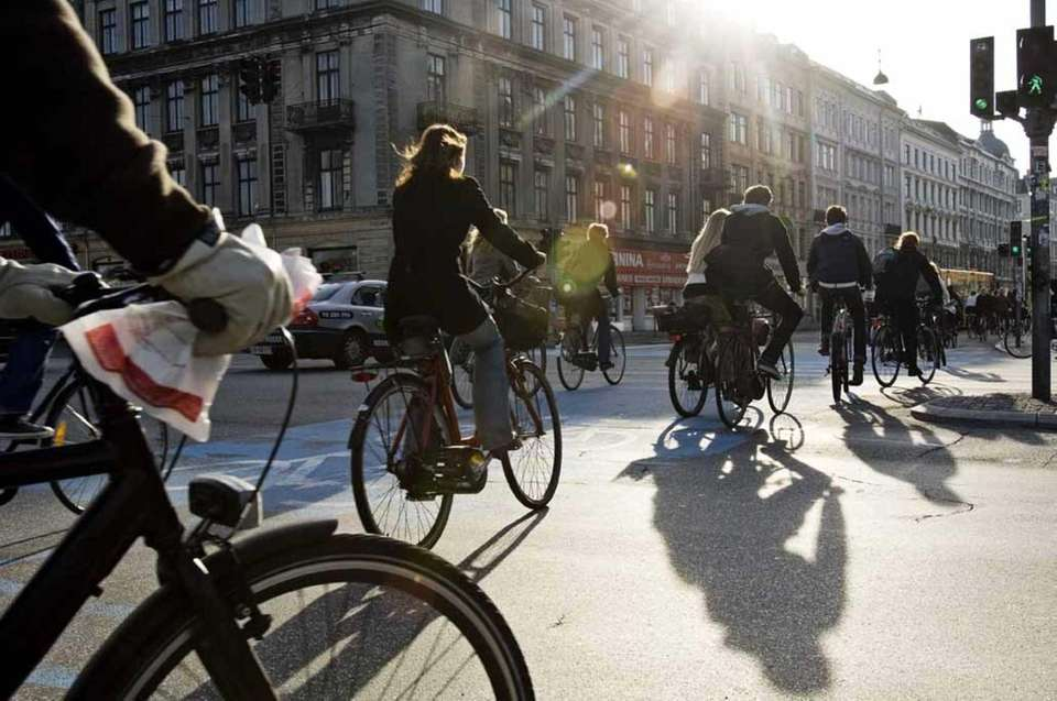 Copenhagen is a city where bikes reign supreme.