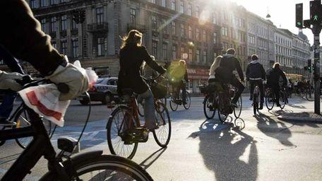 Copenhagen is a city where bikes reign supreme.