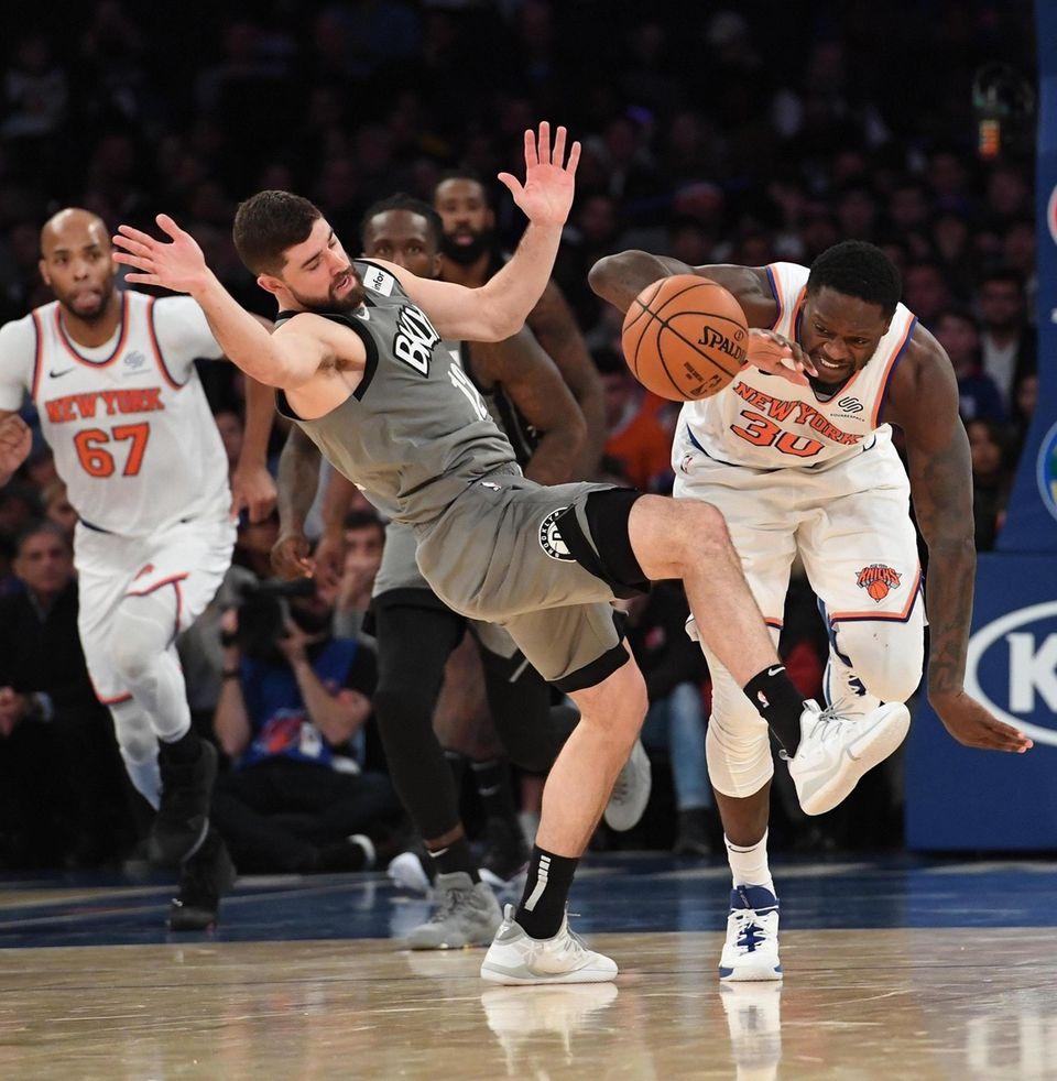 Brooklyn Nets guard Joe Harris and New York
