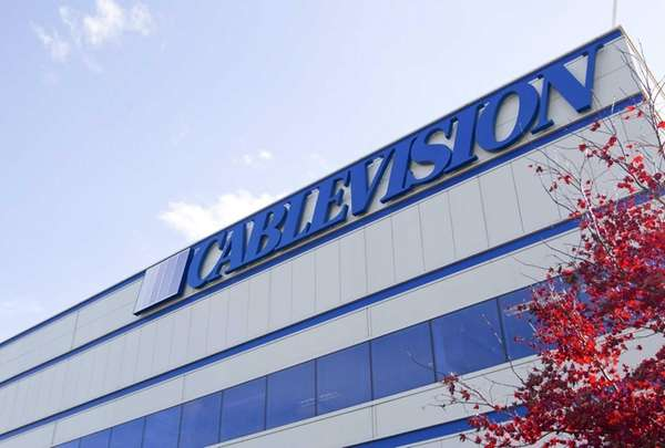 The Cablevision Systems Corp. headquarters sits in Bethpage,