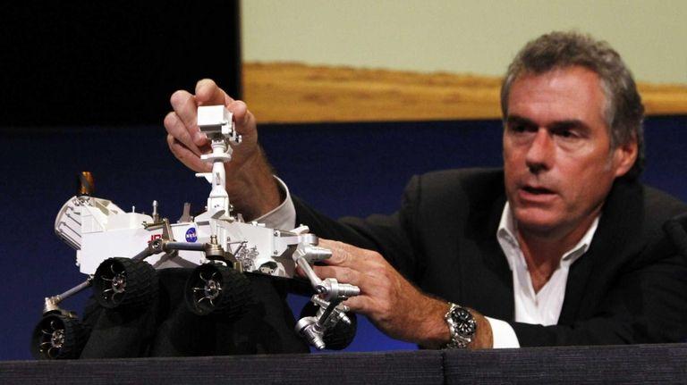NASA engineer Mike Watkins describes the deployment of