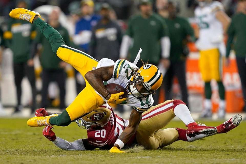 Green Bay Packers wide receiver Davante Adams is