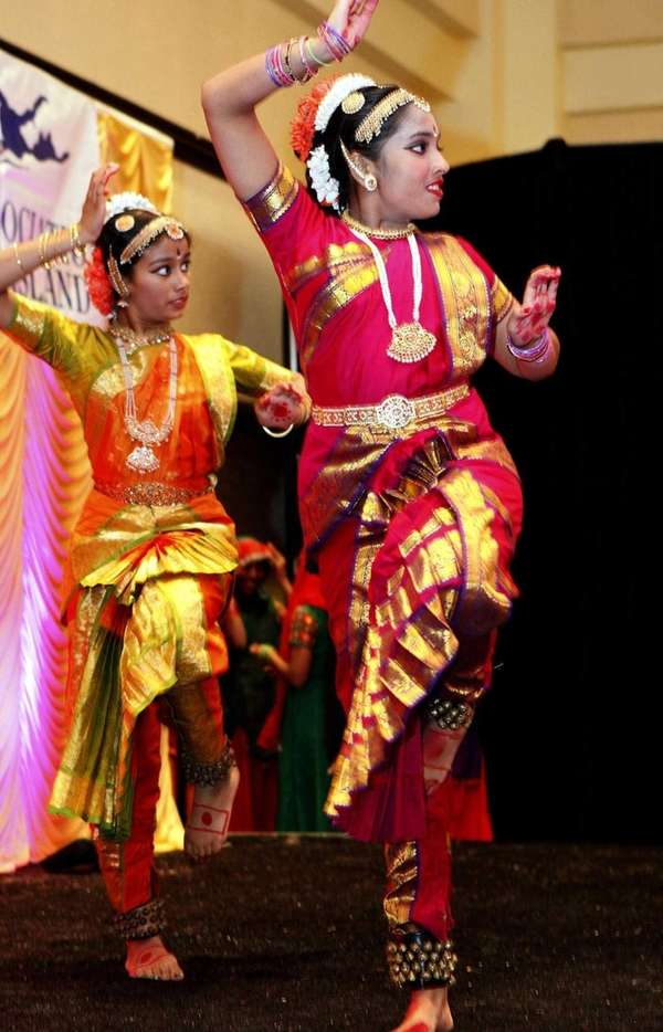 Native Indian dancers in colorful costume provided entertainment