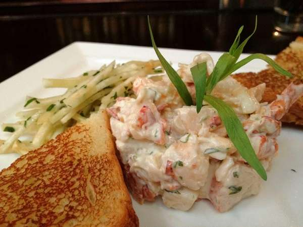 At Amarelle in Wading River, lobster salad is