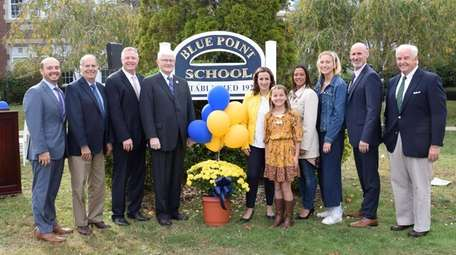 The Bayport-Blue Point School District recently celebrated the