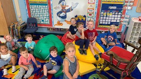 West Islip School District's Little Lion Cubs prekindergarten