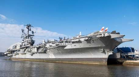 The Intrepid Sea, Air & Space Museum commemorates