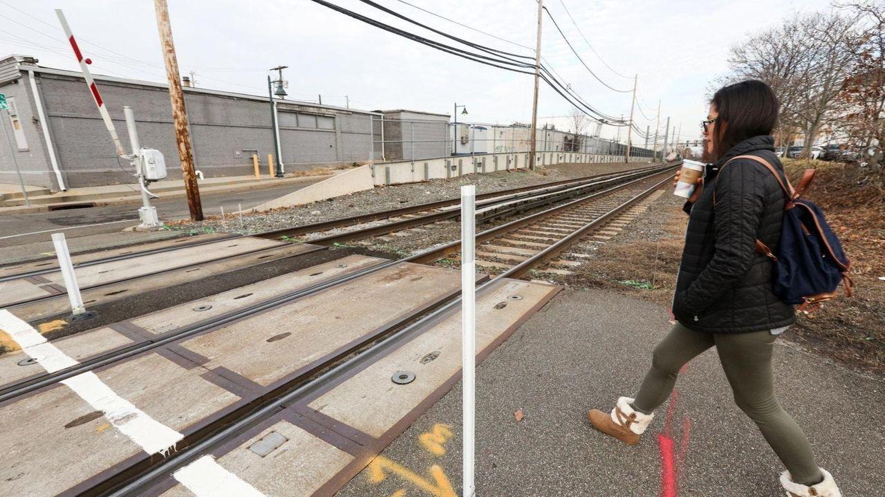 Long Island Rail Road president Phillip Eng spoke