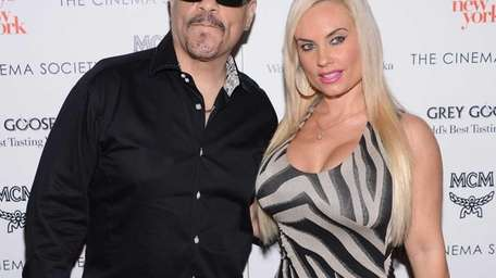 Ice T and Coco T attend The Cinema