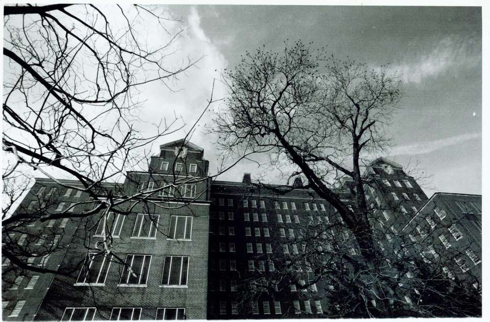 Then: Building 93 appears ominous as it stood