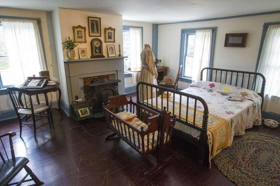 The master bedroom inside the 1743 James Havens