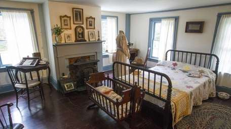 The master bedroom inside the 1743 James Havens