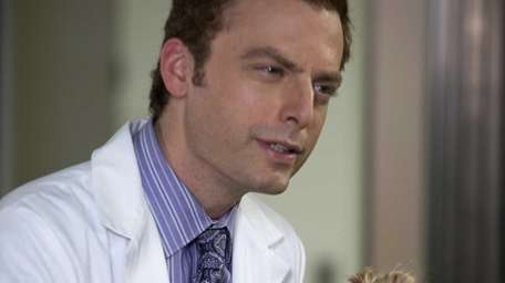 Justin Kirk portraying George Coleman in a scene