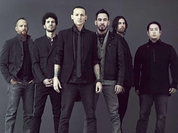 "Members of the group ""Linkin Park."""