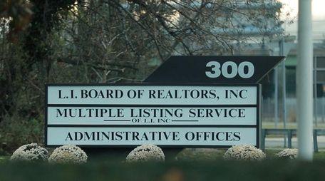 The Long Island Board of Realtors has temporarily