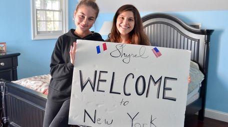 Shyrel Rapp, left, and her host mother, Gina