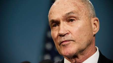 Then-New York Police Department (NYPD) Commissioner Ray Kelly