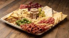An antipasto platter from Sansone Market in Garden