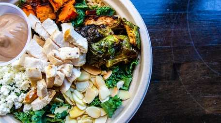 Bango Bowls' Harvest salad, which is part of