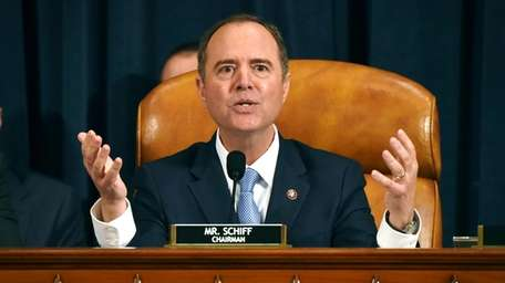 House Intelligence Committee Chairman Adam Schiff (D-Calif.) gives