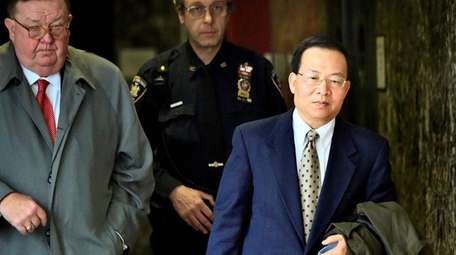 Dr. Stan Li, right, who is on trial