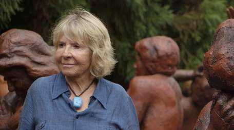 Montauk sculptor Suse  Lowenstein is the subject