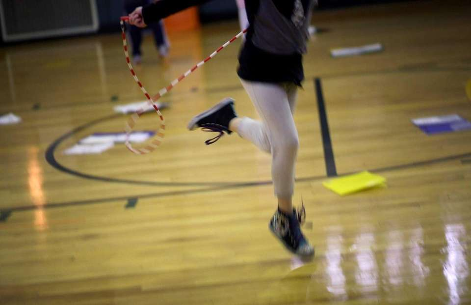 Ace physical fitness tests. A fun way to