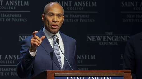 Democratic candidate for United States President, Governor Deval