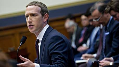 Mark Zuckerberg, chief executive officer and founder of