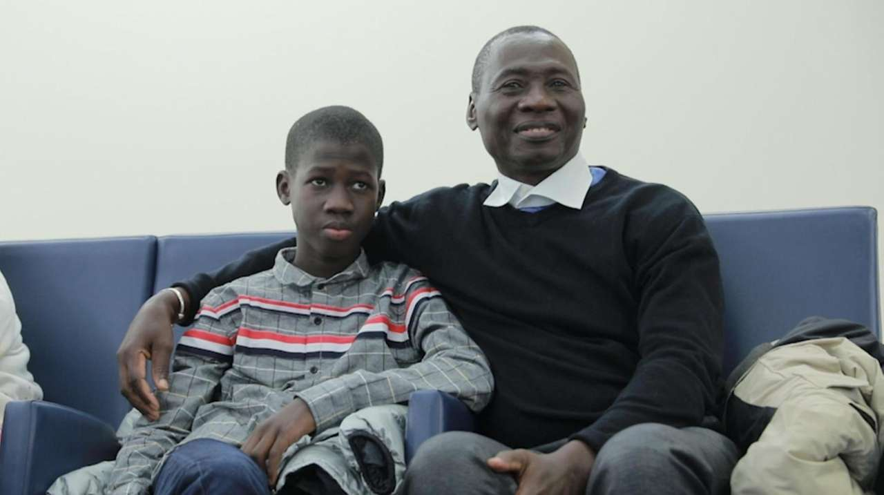Simon Correa of Gambia on Tuesday thanked doctors